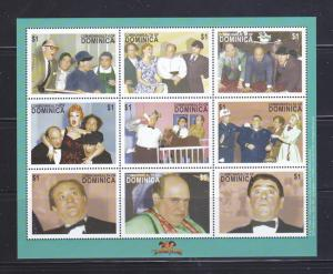 Dominica 2351 Set MNH The Three Stooges