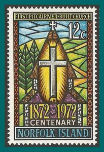 Norfolk Island 1972 First Church, MNH #151,SG128