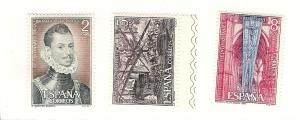 Spain, 1690-92, Battle of Lepanto Singles, MNH