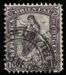 1904-1905, Uruguay, Local Motives, 1 centesimo, YT #164 (T-7423)