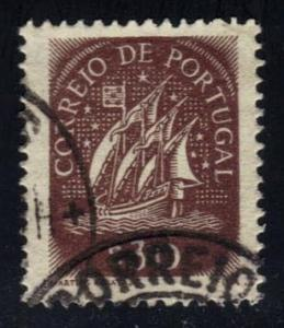 Portugal #619 Sailing Ship, used (0.20)