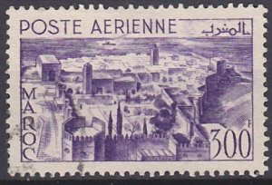 French Morocco C40 used (1951)