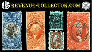 Revenue-Collector Stamps