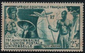 French Equatorial Africa #C34*  CV $16.00