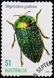 Australia. 2016 $1 Fine Used