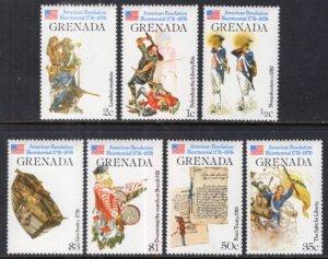 Grenada 716-722 MNH VF