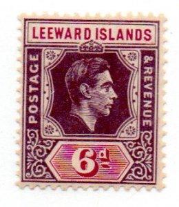 LEEWARD ISLANDS 110 MNH GUM TONE SCV $6.00 BIN $3.60 ROYALTY