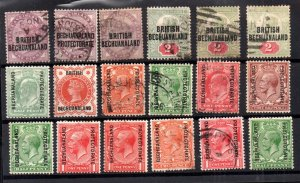Bechuanaland QV-KGV mint and used collection WS16593