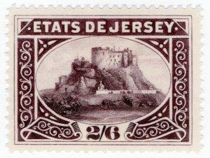 (I.B) Jersey Revenue : Duty Stamp 2/6d