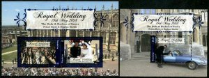 HERRICKSTAMP NEW ISSUES NIUAFO'OU Royal Wedding Prince Harry S/S