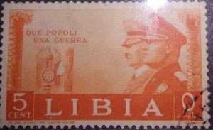 Italian Libya #95 Italian-German Brotherhood of Arms cv 6.75