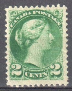 Canada #36 Mint F-VF LH Small Queen $100.00