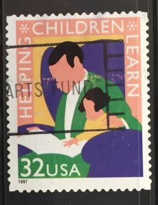 US #3125 Used F/VF - Helping Children Learn 32c