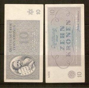 Czechoslowakia - Bohemia & Moravia, KZ currency
