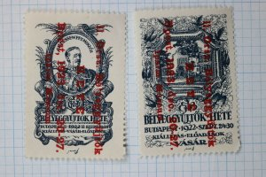 Vasar Hungary HETE 1922-23 OP Russia Stamp collector Philatelic Museum Poster ad