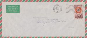 Ireland 1/5 1964 Europa 1965 Baile Atha Cliath, H Airmail to Washington, D.C....