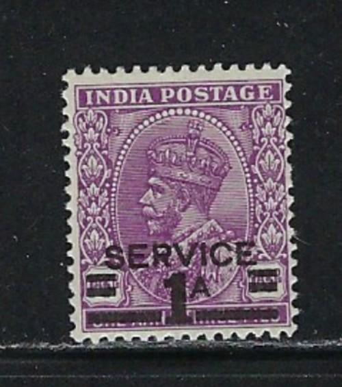 India O104 Lightly Hinged 1939 Official issue