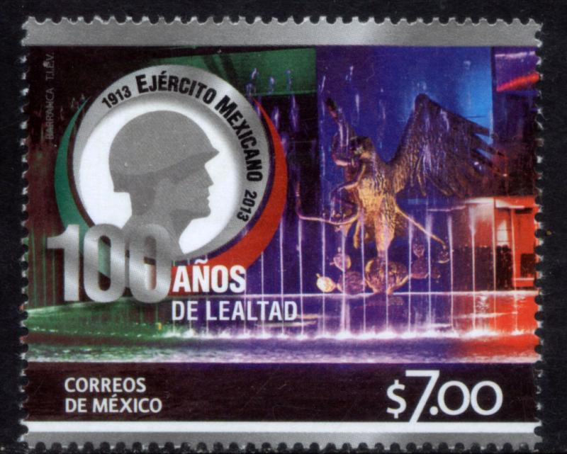 MEXICO 2843 Centenary of the Mexican Army-III. MNH