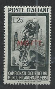 TRIESTE - ZONE A SC# 128 F-VF MNH 1951