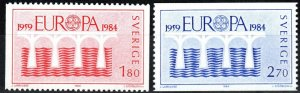 Sweden #1486-7 MNH  CV $3.75 (X1750)