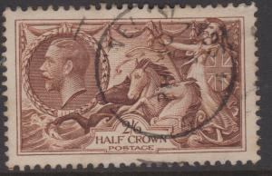 Great Britain Sc#173a Used VF-XF Centering