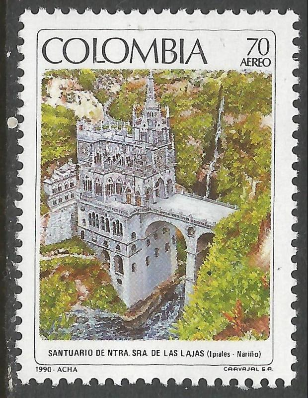 COLOMBIA C836 MNH LAJAS V522