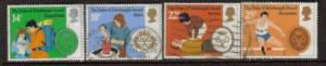 Great Britain Sc 952-5 1981 Duke's Award stamps used
