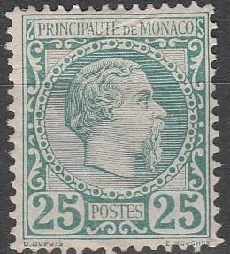 Monaco #6 Fine Unused CV $700.00 (C3066)