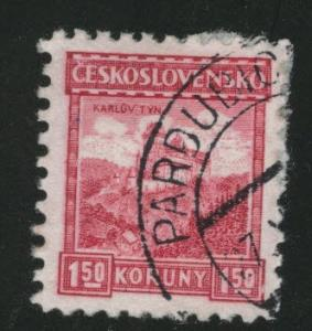CZECHOSLOVAKIA Scott 133 Used