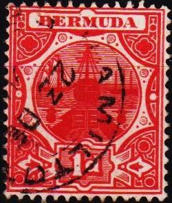 Bermuda. 1902 1d  S.G.38  Fine Used