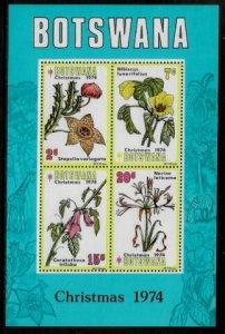 Botswana #131a MNH S/Sheet - Flowers