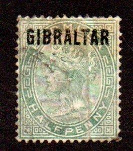 GIBRALTAR 1 USED SCV $13.00 BIN $5.20 ROYALTY