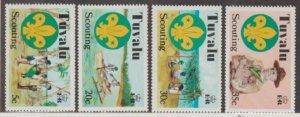 Tuvalu Scott #50-53 Stamps - Mint NH Set