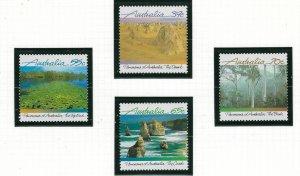 Australia 1098-1101 MNH 1988 Views (ap6551)