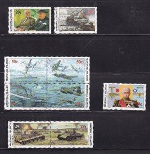Marshall Islands 329-337, MNH