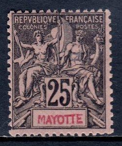 Mayotte - Scott #10 - MLH - Regummed - SCV $14