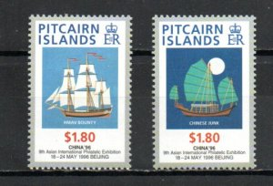 Pitcairn #450-451 MNH