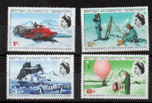 British Antarctic Territory 20-23  MNH