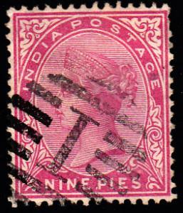 India Scott 37 Used.