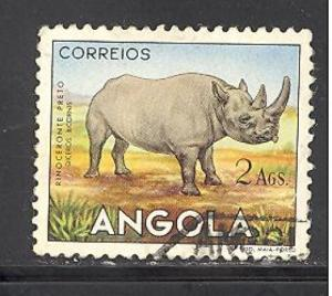 Angola 370 used SCV $ 0.25 (DT)