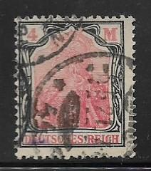 Germany Sc.132 / Mi.153 used L73