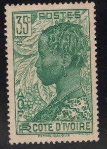 Ivory Coast Scott 123 MH*  stamp