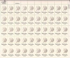 US Stamp - 1978 Carl Sandburg - 50 Stamp Sheet -   Scott #1731
