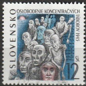 Slovakia, #214  Used , From 1995,  CV-$0.60