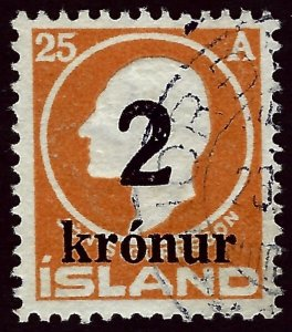Iceland SC#149 Used F-VF SCV$190.00....Worth a Close Look!!