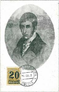 24013  MAXIMUM CARD - COLOMBIA 1932