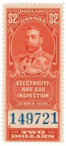 (I.B) Canada Revenue : Electricity & Gas Inspection $2