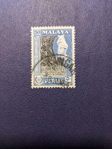 Malaya - Perlis 36 VF, CV $4.75