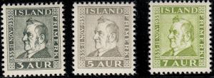 ICELAND 195-198 VF NH (22019)