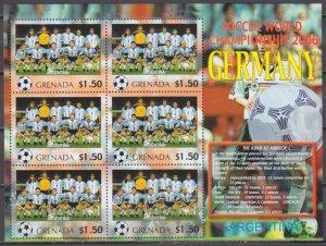 2006 Grenada 5714KL 2006 FIFA World Cup Germany( Argentina ) 9,00 €